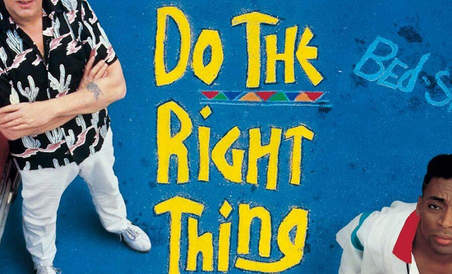 Do The Right Thing Cover by Spike Lee, 1989