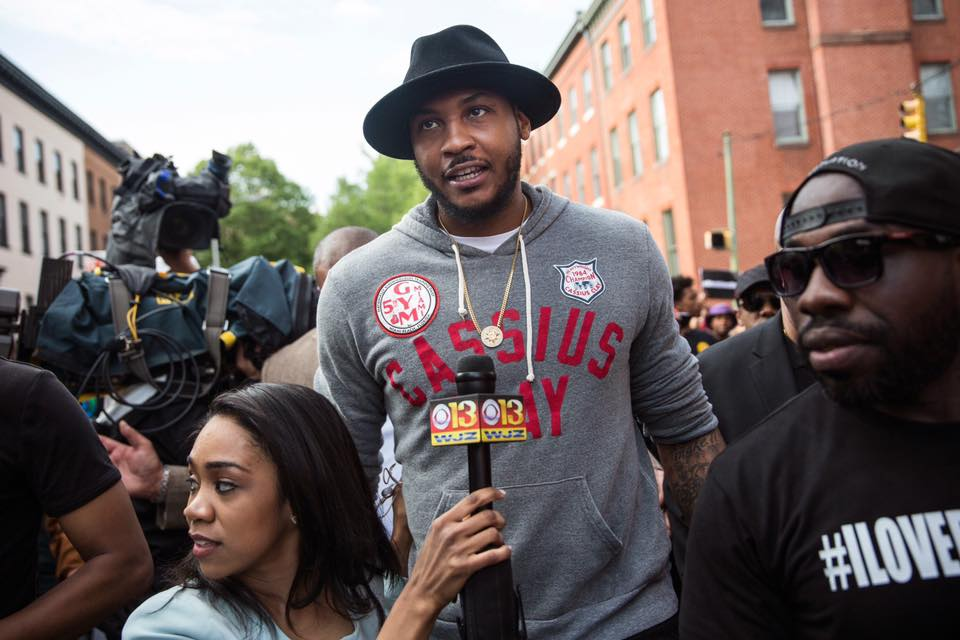 Carmelo Anthony demands Change