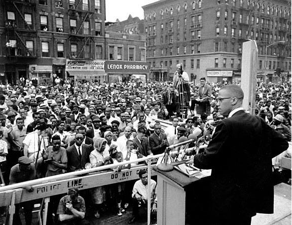 MALCOLM X - Harlem Freedom Rally, 1960