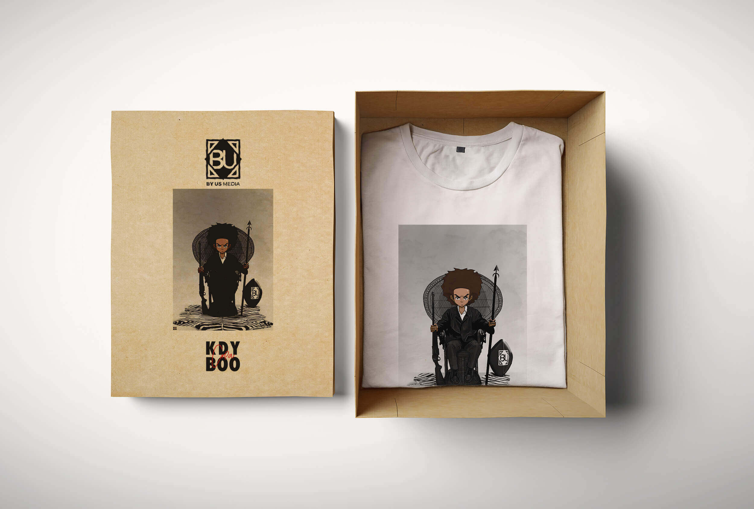 T-shirt collector KDYBOOCREA X BYUS MEDIA