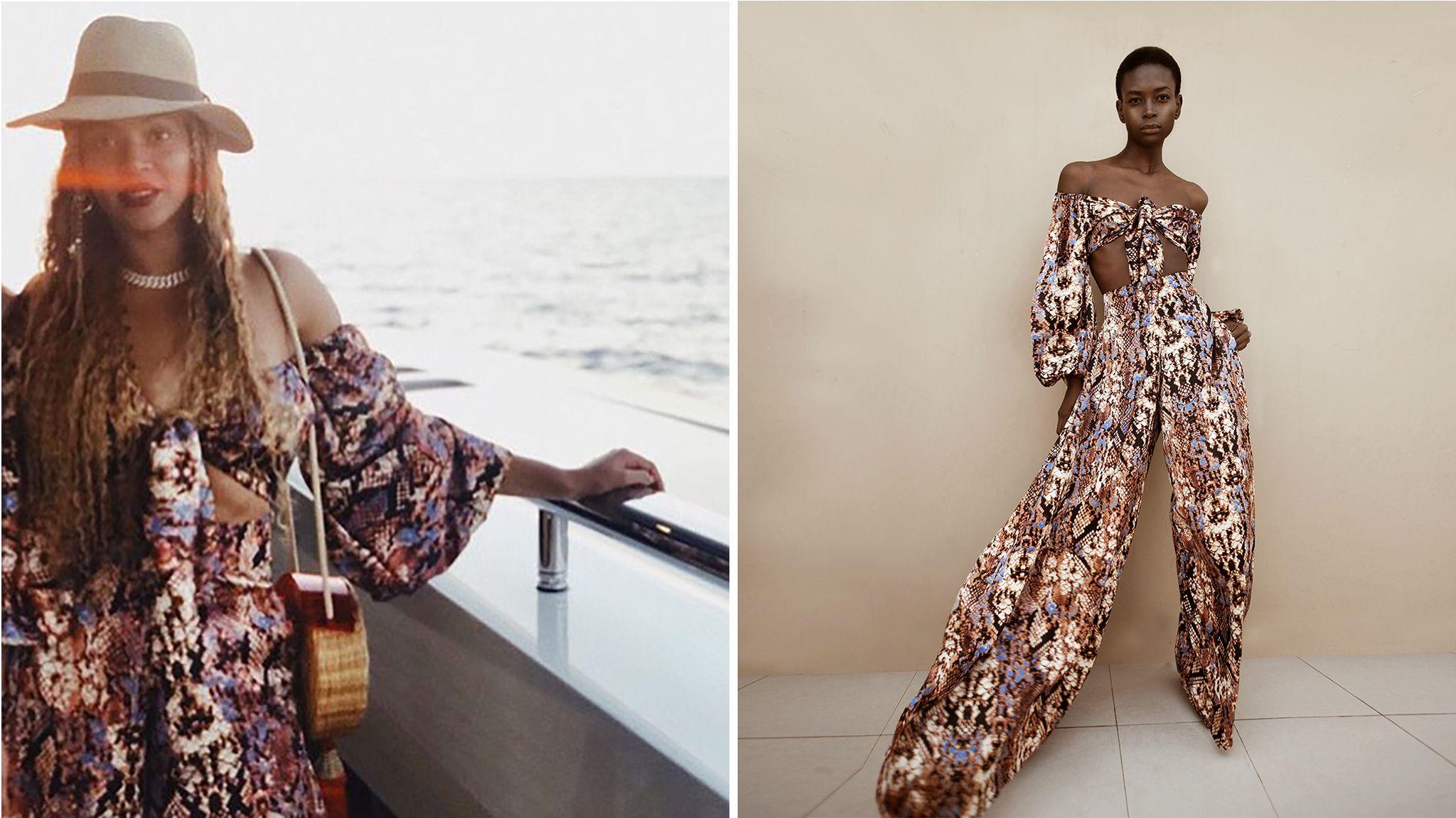 Zoom sur Sarah Diouf, la créatrice qui a habillé Beyoncé cet été