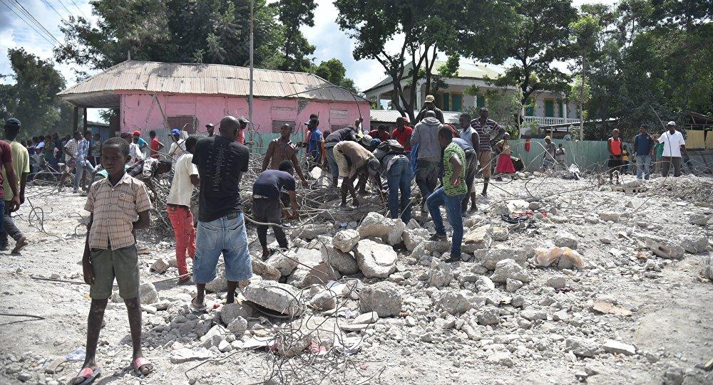 Un séisme de magnitude 5,9 fait au moins 12 morts en Haïti