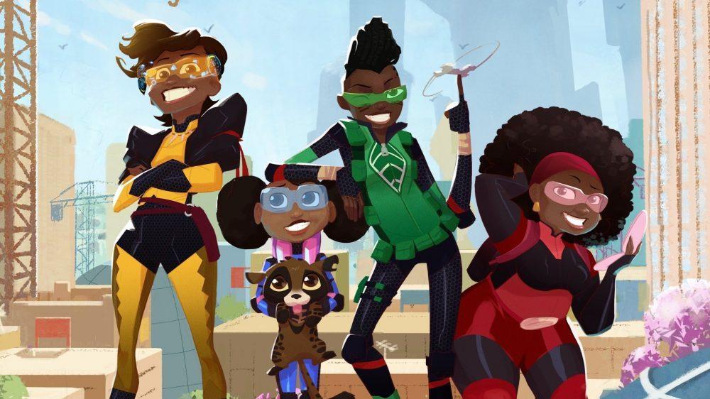 Dessin animé Mama K's Team 4