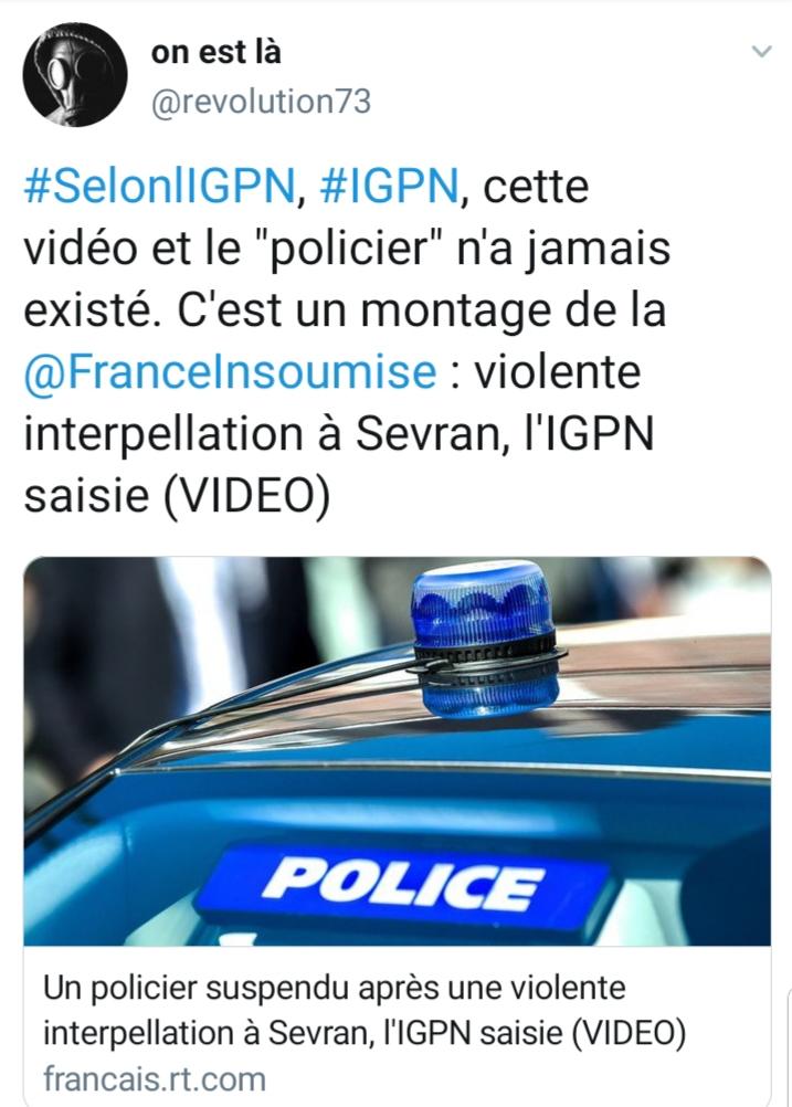 violences policière