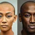 Un photographe dévoile un portrait moderne de la reine Néfertiti et du roi égyptien Akhenaton