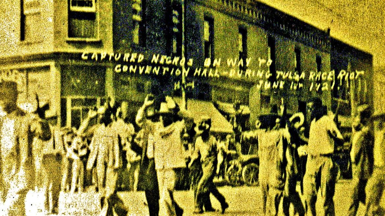 Captured Negro Men
